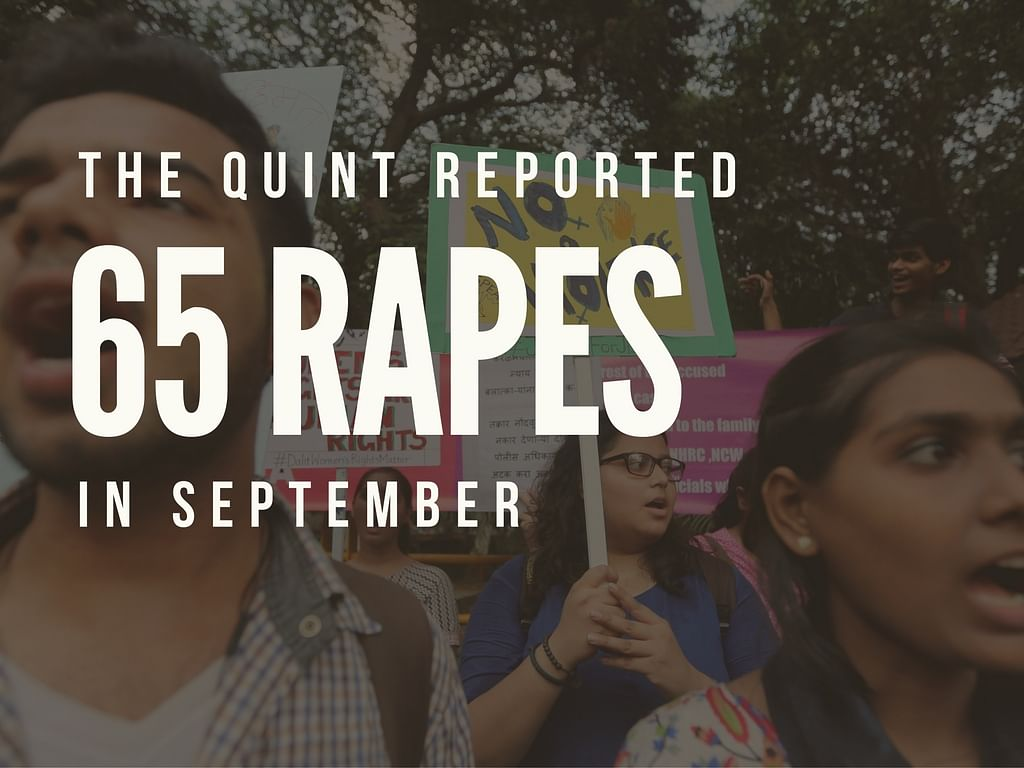 As part of our campaign, <b>The Quint</b> will track rapes reported everyday for a year. (Photo: <b>The Quint</b>/Abhipsha)