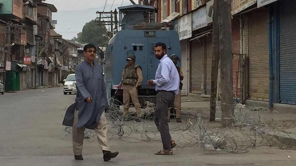 The downtown area of Srinagar. (Photo: The Quint/Poonam Agarwal)