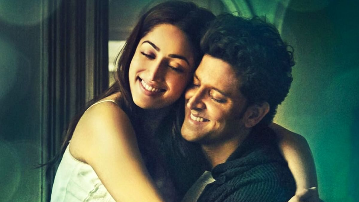 """Yami Gautam and Hrithik Roshan in the film poster of <i>Kaabil.</i> (Photo courtesy: Instagram/<a href=""""https://www.instagram.com/hrithikroshan/"""">hrithikroshan</a>)"""