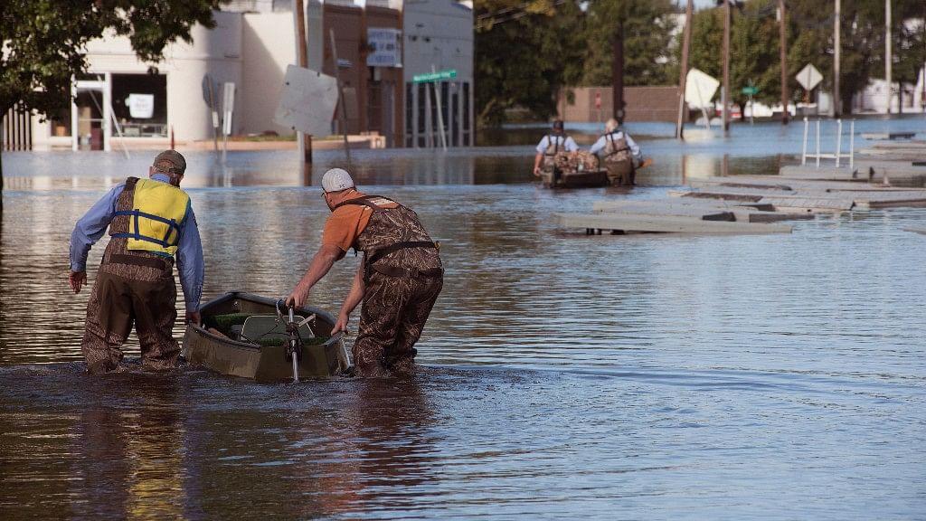 Photo of North Carolina flooding, used for representational purpose. (Photo: AP)
