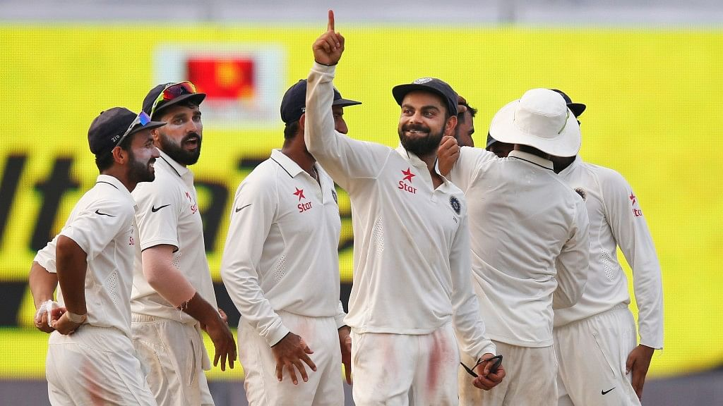 Virat Kohli is yet to lose a test match in India as a captain. (Photo: AP)