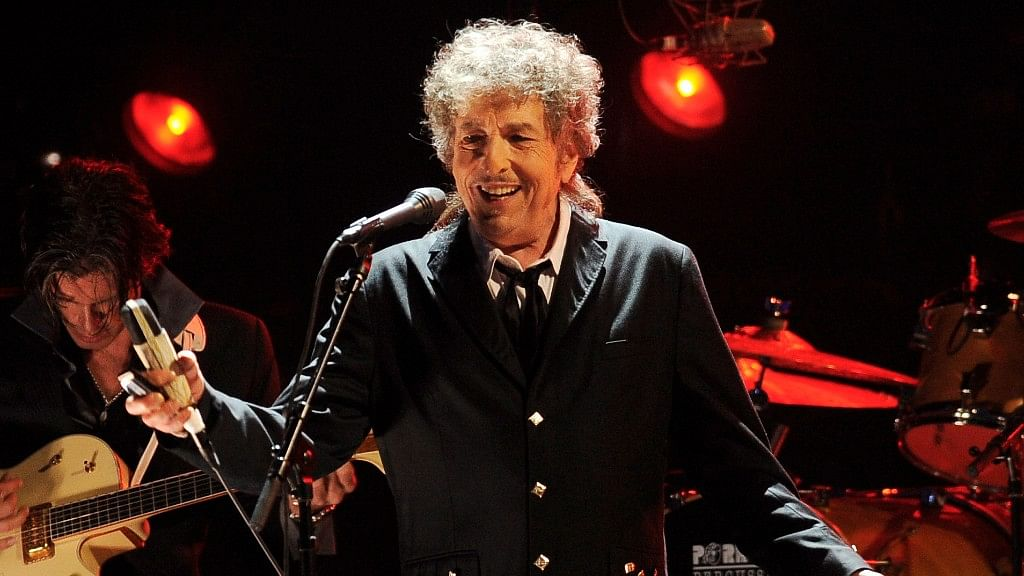 File photo of Bob Dylan performing in Los Angeles. (Photo: AP)