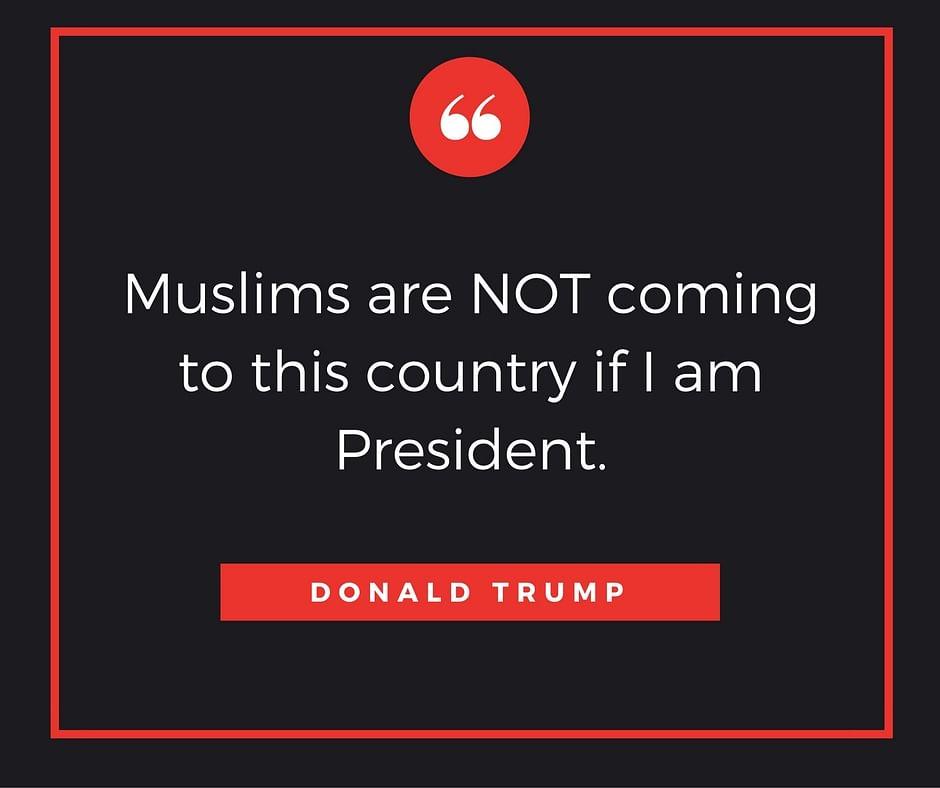 Blanket ban on Muslims = End of terrorism.