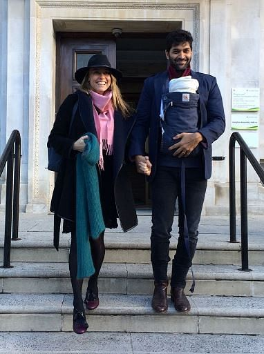 "Purab Kohli with his fiancé<b> </b>and child. (Photo Courtesy: <a href=""https://twitter.com/search?f=images&amp;vertical=default&amp;q=purab%20kohli%20love%20child&amp;src=typd"">Twitter</a>)"