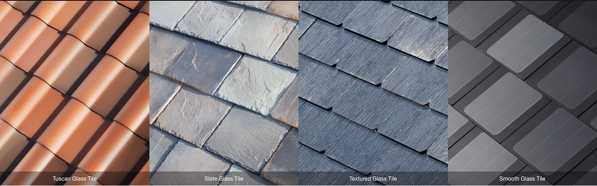Builders have options that look like existing tile options. (Photo Courtesy: Tesla)