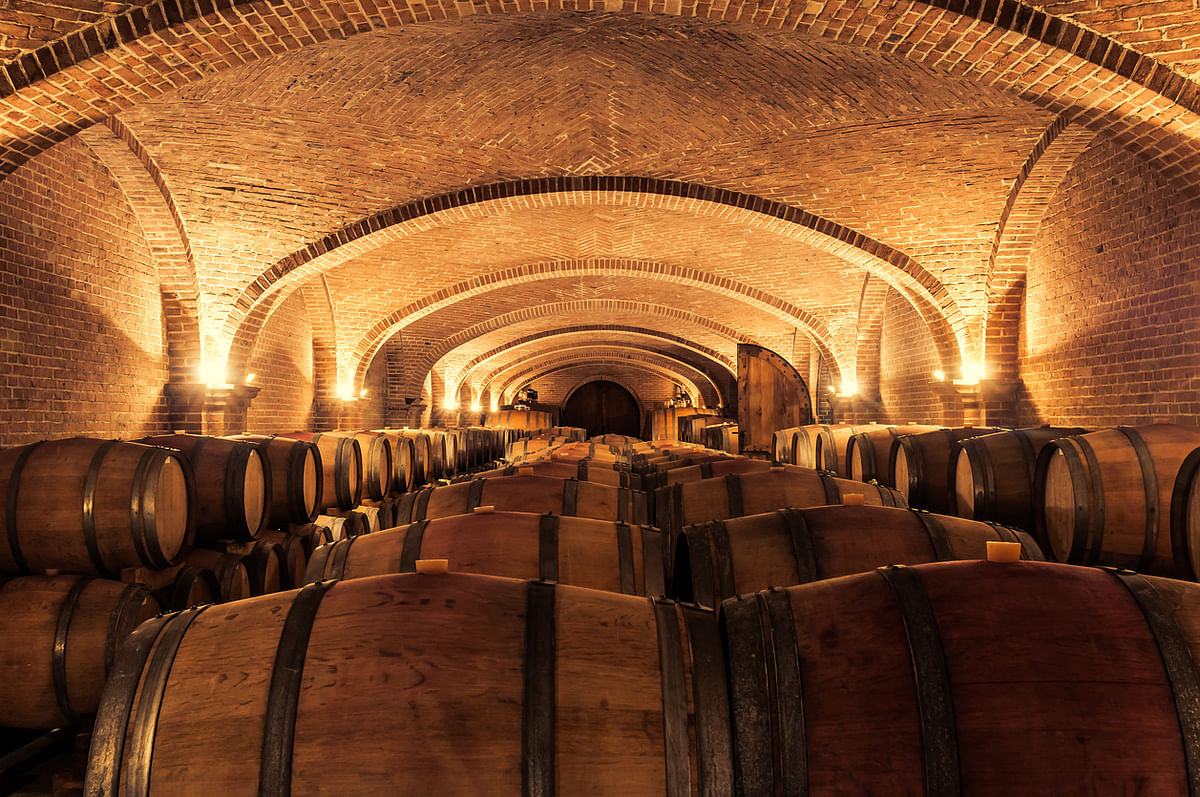 Many wines are matured in an oak barrel as the contact with oak softens and smooths the wine. (Photo: iStock)