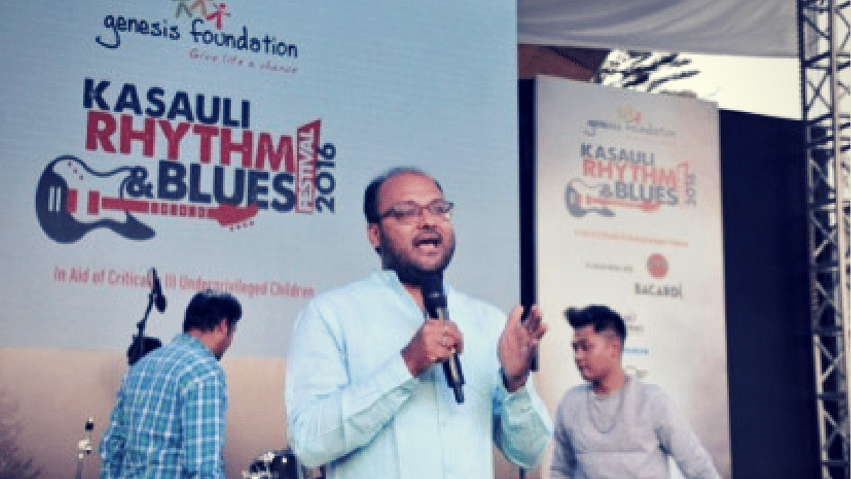 Sanjay Modi's experience with the Genesis Foundation. (Photo: <b>The Quint</b>)