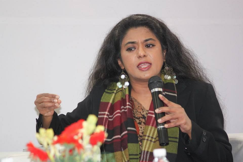 """Anna Vetticad another winner of the Ramnath Goenka Award also gave the ceremony a miss. (Photo Courtesy: Facebook/<a href=""""https://www.facebook.com/AnnaMMVetticadOfficial/"""">@AnnaMMVetticadOfficial</a>)"""
