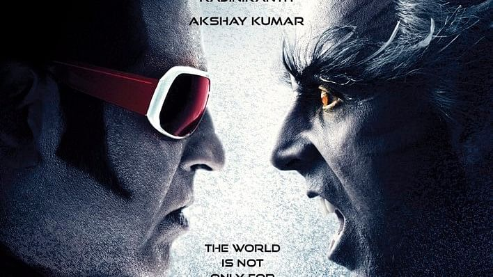 The first poster of<i> 2.0</i>.
