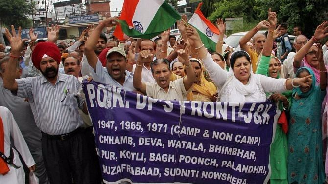 Govt Clears Rs 2,000 Crore Package For Displaced Families From PoK