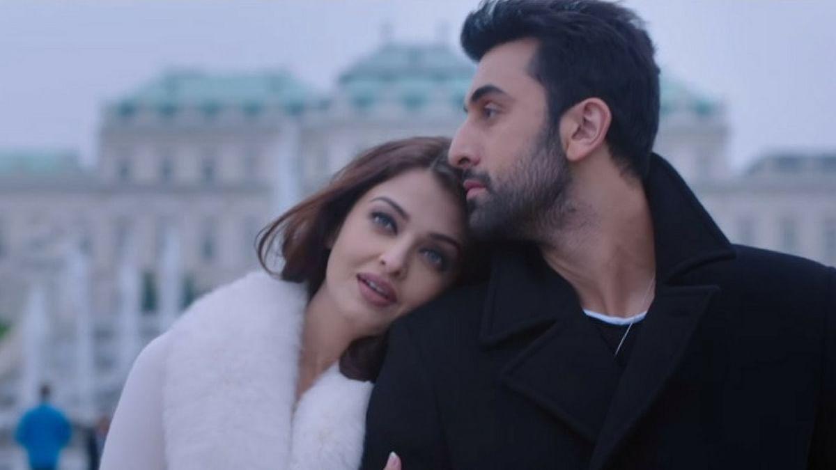 Aishwarya Rai Bachchan and Ranbir Kapoor in a scene from <i>Ae Dil Hai Mushkil.</i>