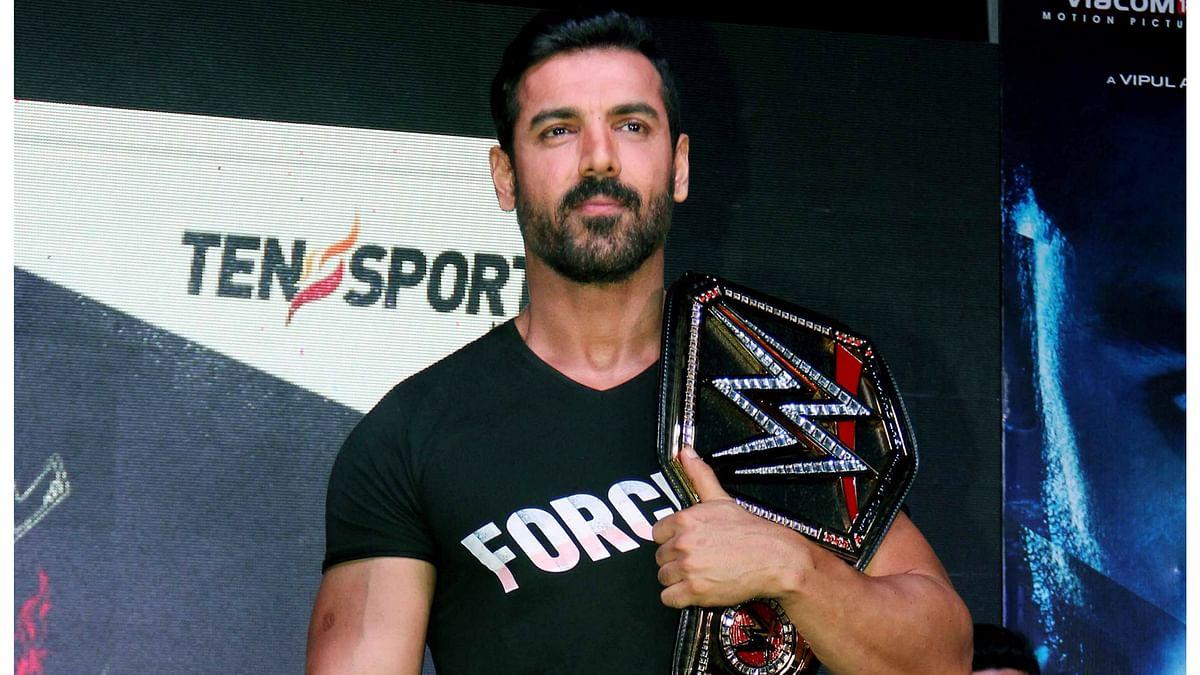 John Abraham would make a great WWE wrestler. (Photo: Yogen Shah)