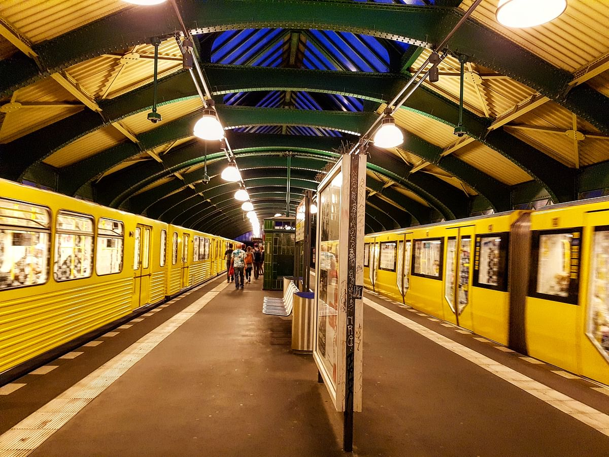 Some of Berlin's underground train stations lead to secret bunkers. (Photo Courtesy: Ashwin Rajagopalan)