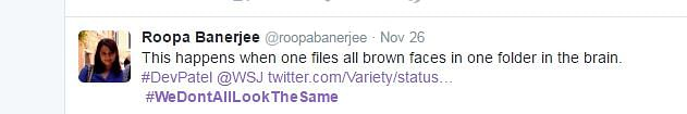"""Screenshot of a tweet lashing out at Morgenstern. (Photo: Twitter/ <a href=""""http://https://twitter.com/roopabanerjee/status/802567965623336960"""">Roopa Banerjee</a>)"""