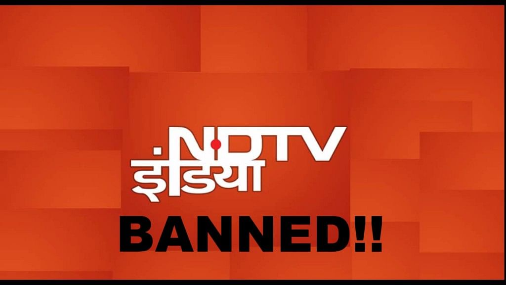 """NDTV calls the move by the government """"shocking"""". (Photo: NDTV/The Quint)"""