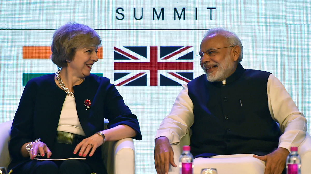 Theresa May Calls Modi on Poll Win, Discusses G20, ICC World Cup