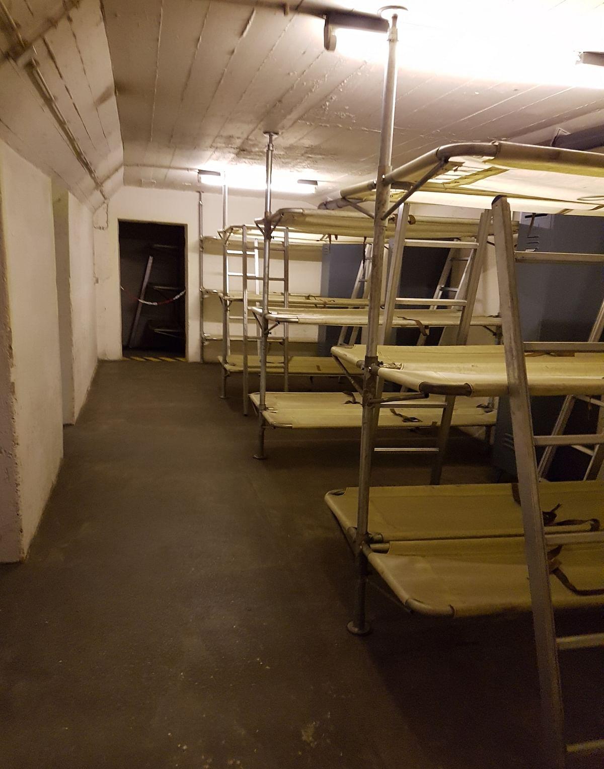 Bunker beds. (Photo Courtesy: Ashwin Rajagopalan)