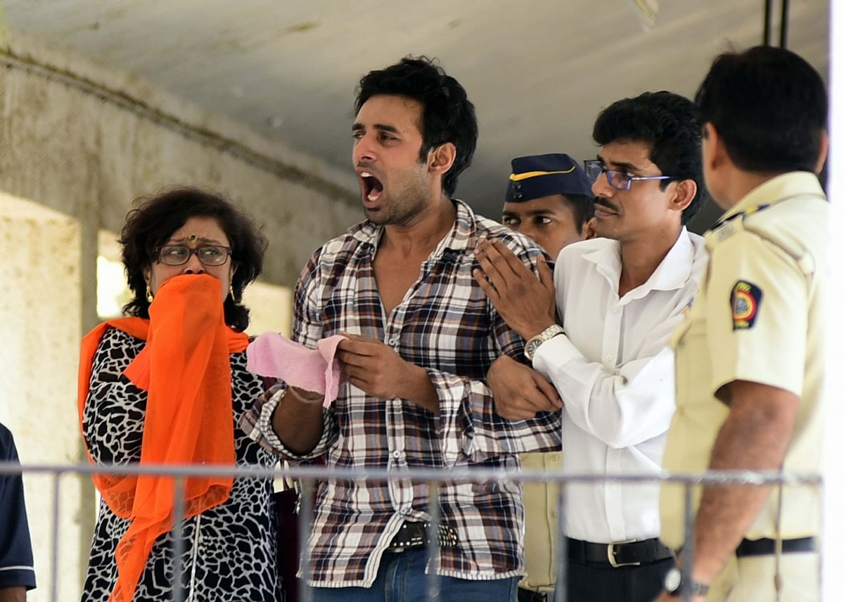 Rahul Raj Singh on the day of Pratyusha's death. (Photo: IANS)