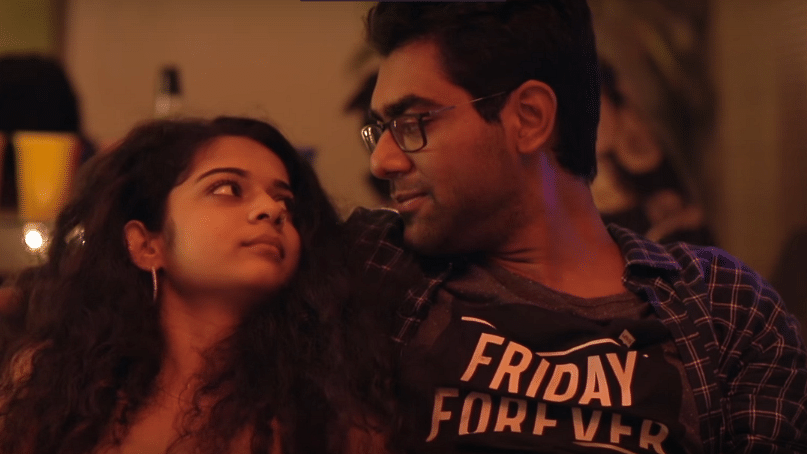 "Dice Media's 'Little Things' is a web series about a couple Kavya (played by Mithila Palkar) and Dhruv (played by Dhruv Sehgal) about mundane and everyday love. (Photo: <a href=""https://www.youtube.com/watch?v=a-uyRka4srk&amp;t=693s"">YouTube screenshot</a>)"