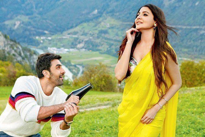 Ranbir Kapoor and Anushka Sharma in a scene from<i> Ae Dil Hai Mushkil.&nbsp;</i>