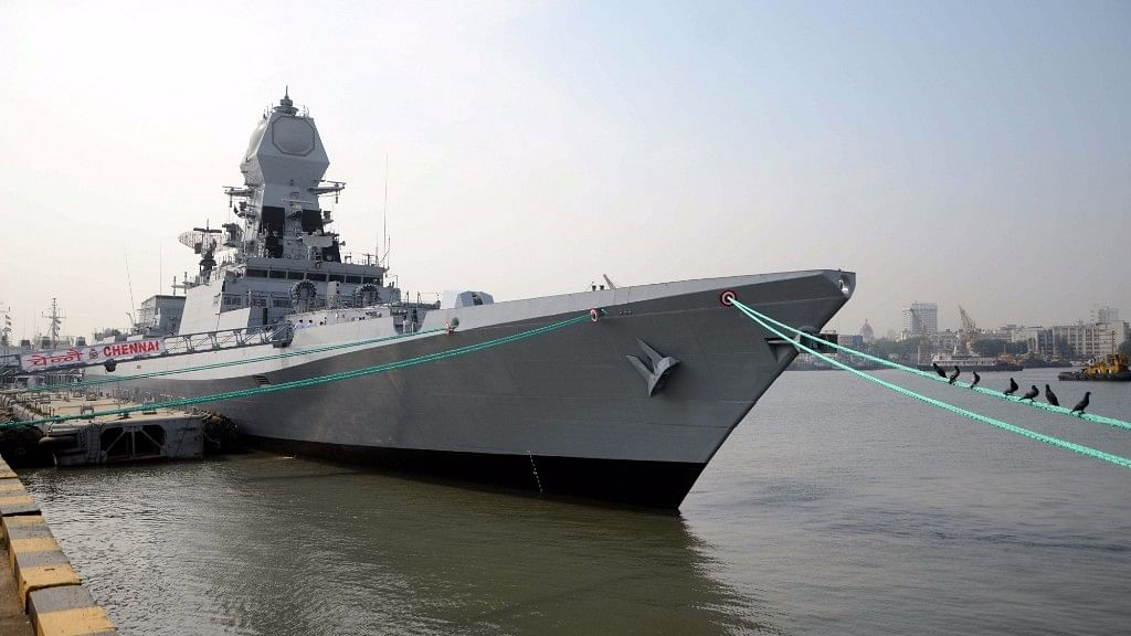 Indian Navy Commissions  Largest Indigenous Warship, INS Chennai