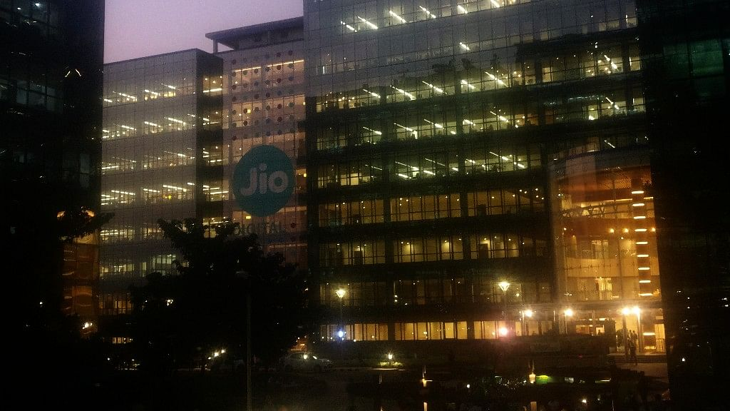 The Reliance Jio Experience Centre in Mumbai. (Photo: <b>The Quint</b>)