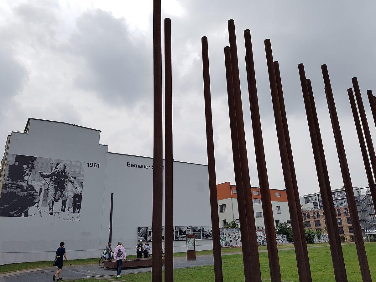 Berlin Wall memorial. (Photo Courtesy: Ashwin Rajagopalan)
