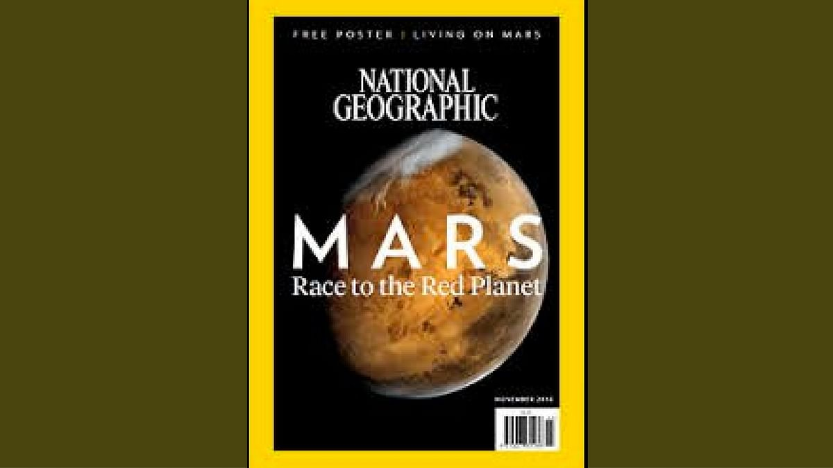 Mangalyaan's Mars Photo Lands on National Geographic's Cover