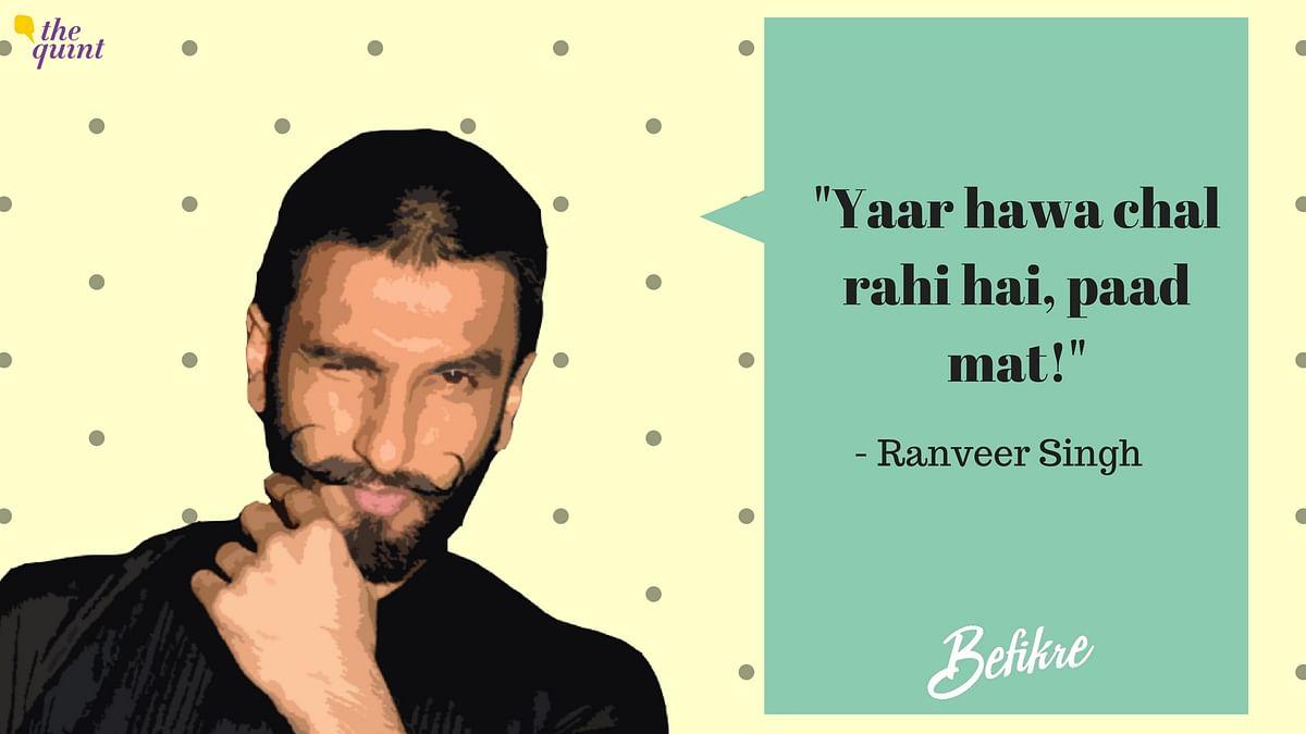 Ranveer Singh's 'Befikre' Sense Of Humour Is Worse Than Alia's PJs