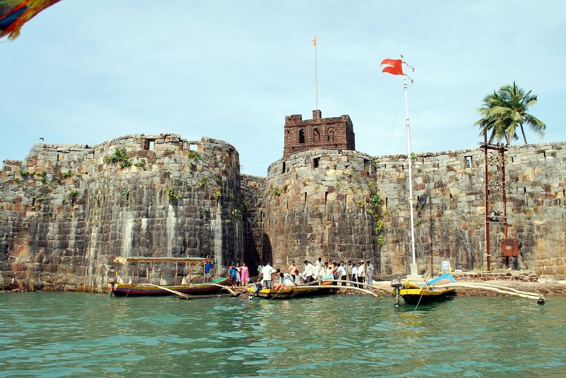 "Sindhudurg fort in Konkan. (Picture Courtesy: <a href=""http://shreeganesharesort.com/sindhudurg-fort/"">shreeganesharesort.com</a>)"