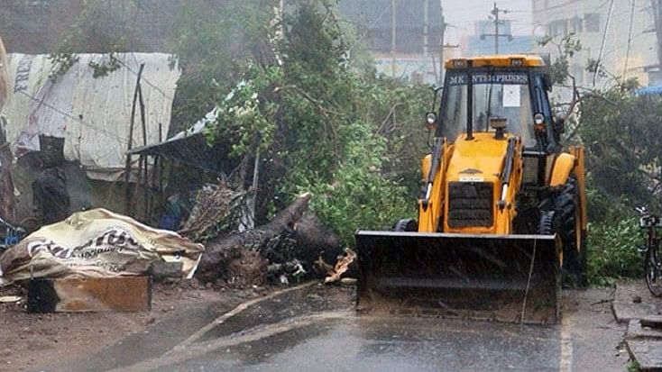 Cyclone Vardah has wreaked havoc in Chennai since it made landfall on Monday afternoon. (Photo Courtesy: The News  Minute)