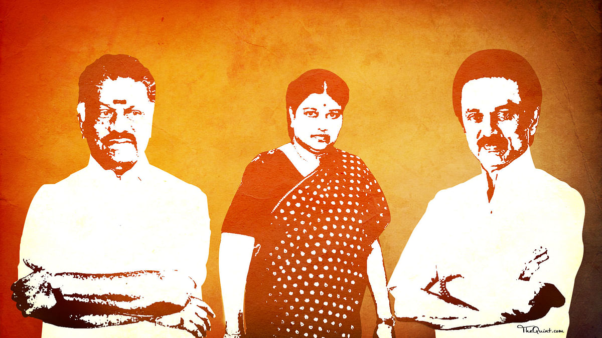 After Amma, Second-Rung DMK and AIADMK Leaders Wait in the Wings