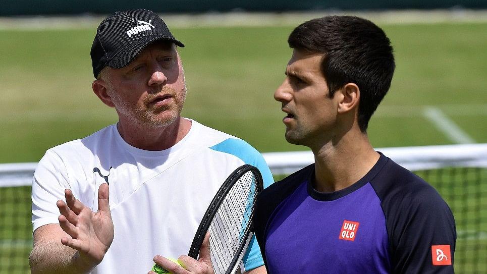 Boris Becker also coached former world number 1 Novak Djokovic