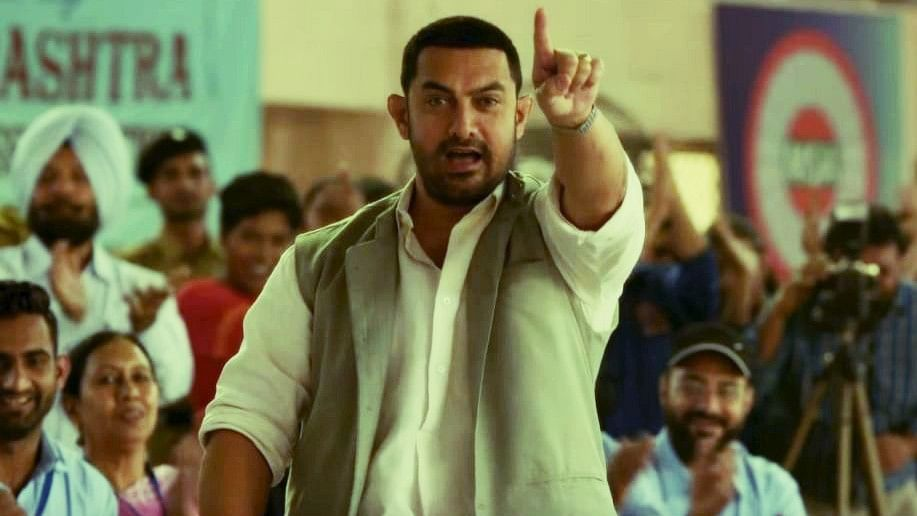 Aamir Khan in a scene from <i>Dangal</i>. (UTV Motion Pictures)