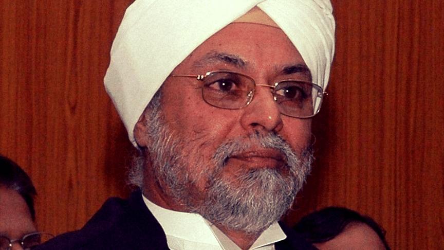 "Justice Jagdish Singh Khehar is India's first Sikh Chief Justice. (Photo courtesy: Twitter/<a href=""https://twitter.com/rkaurbrar77/status/806380226724982784"">R Kaur Brar</a>)&nbsp;"