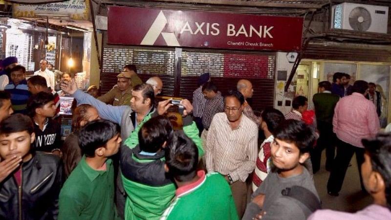 File photo of Axis Bank. (Photo: PTI)