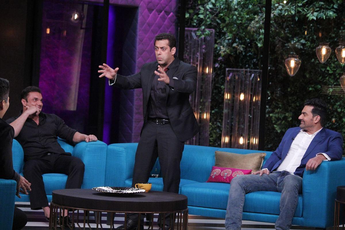 Salman Khan spills the beans on his brothers. (Photo courtesy: Star World)