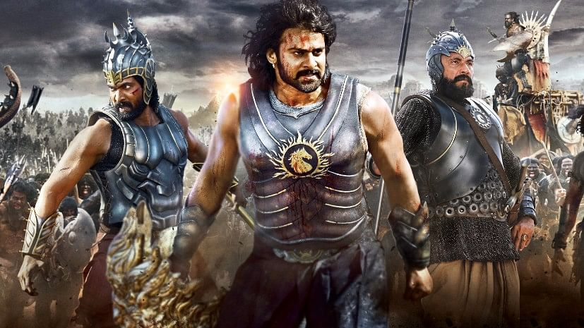 """<i>  Baahubali: The Beginning</i> movie poster (Photo Courtesy: Facebook/<a href=""""https://www.facebook.com/pages/Bahubali-film/479230882150990"""">Bahubali (film)</a>"""