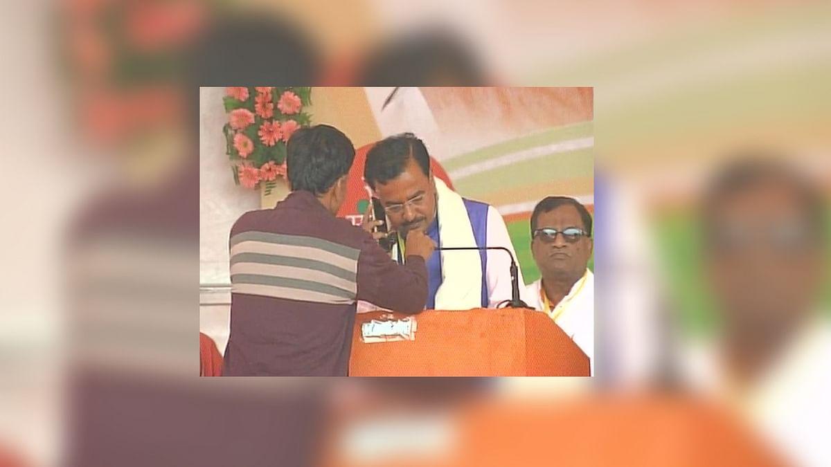 Mitron, Narendra Modi Conducts 'E-Rally' in Bahraich, UP