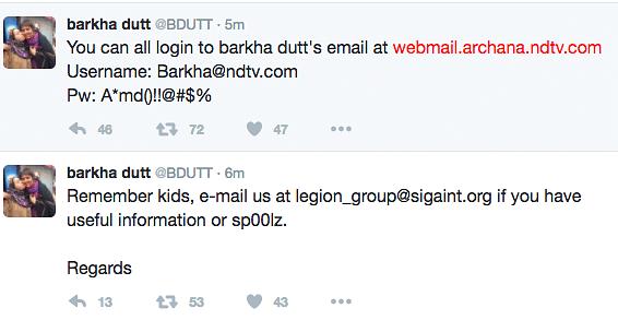 After Mallya, Barkha Dutt & Ravish Kumar's Twitter Accounts Hacked