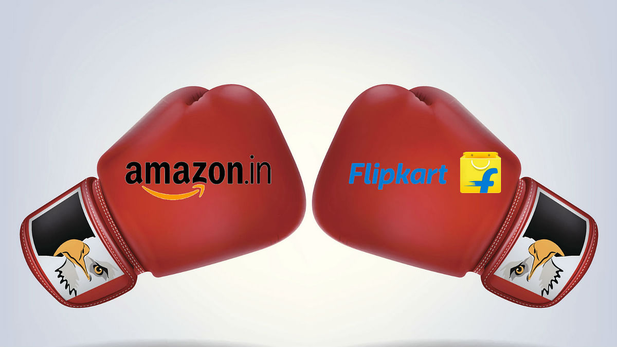 Amazon and Flipkart will battle it out with Walmart behind the scenes.