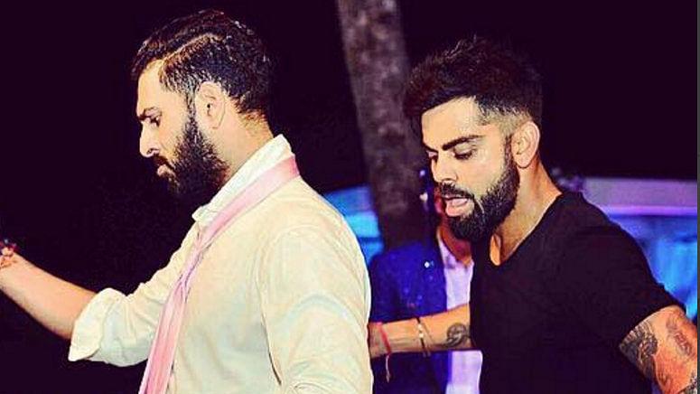 "Yuvraj Singh and Virat Kohli.  (Photo Courtesy: <a href=""https://www.instagram.com/yuvisofficial/?hl=en"">Instagram/Yuvraj Singh</a>)"