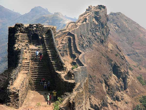 "Fort of Rajgad in Pune district. (Photo Courtesy: <a href=""http://blog.pune99.com/rajgad-fort/"">blog.pune99.com</a>)"