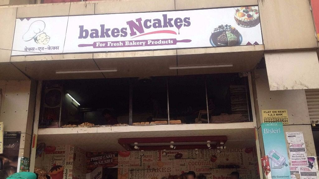 'Bakes N Cakes' in Pune caught fire on Friday morning. (Photo Courtesy: Zomato)
