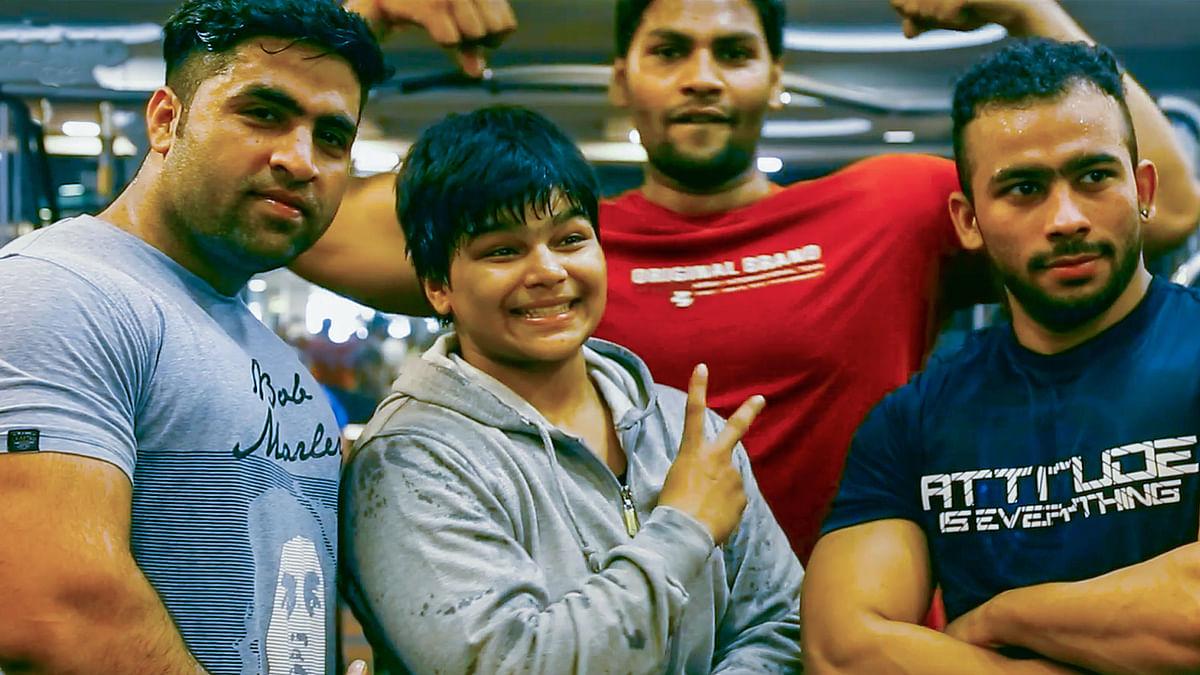 Divya Kakran beat 23 boys in a row in dangals.