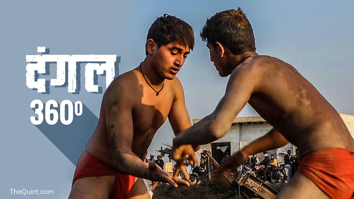Dangal - Traditional Indian Mud Wrestling (Photo: The Quint / Rahul Gupta)