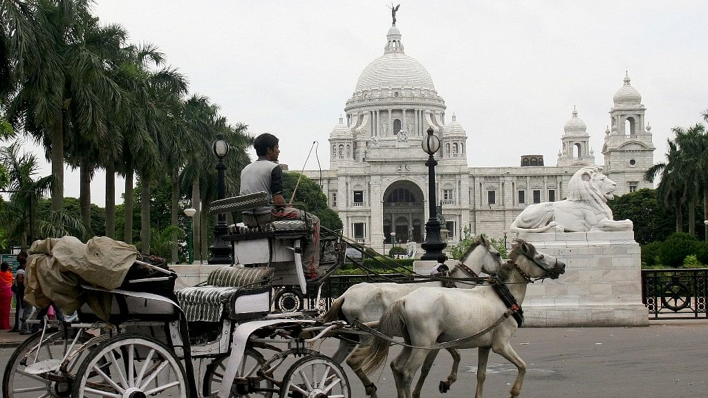 The Victoria Memorial in Kolkata.