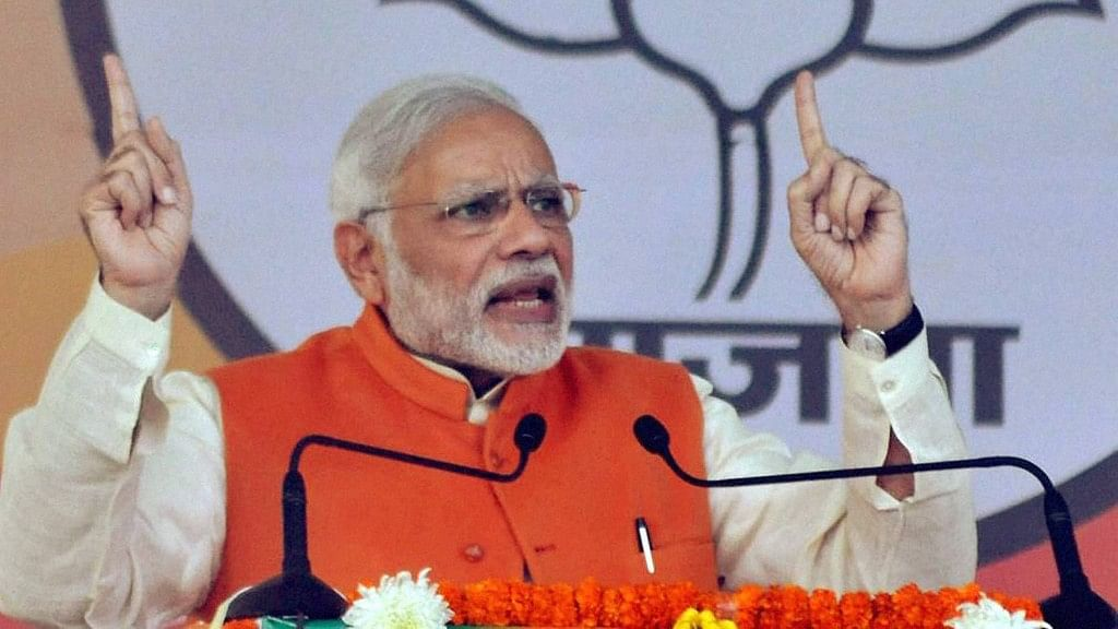 PM's speeches have been inconsistent in their narrative since the announcement of demonetisation. (Photo: PTI)