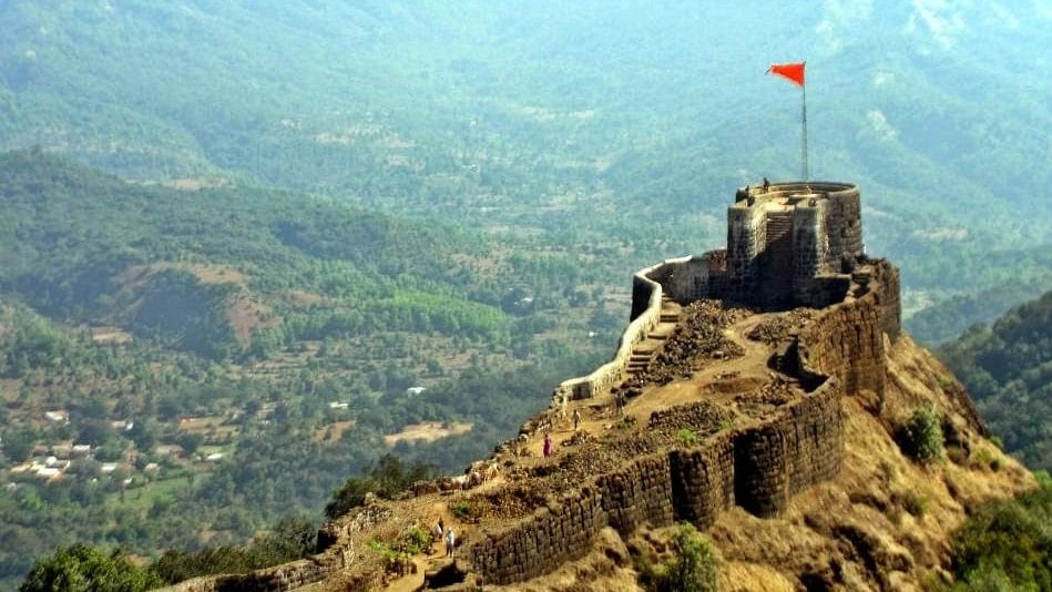 Pratapgad Fort in Satara district.
