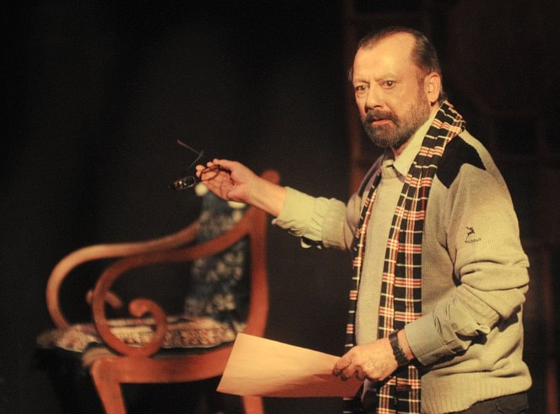 Pankaj Kapur as Professor Sanjay Mishra. (Photo courtesy: NCPA)